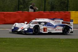 #1 Toyota Racing, Toyota TS040 Hybrid: Anthony Davidson, Sébastien Buemi