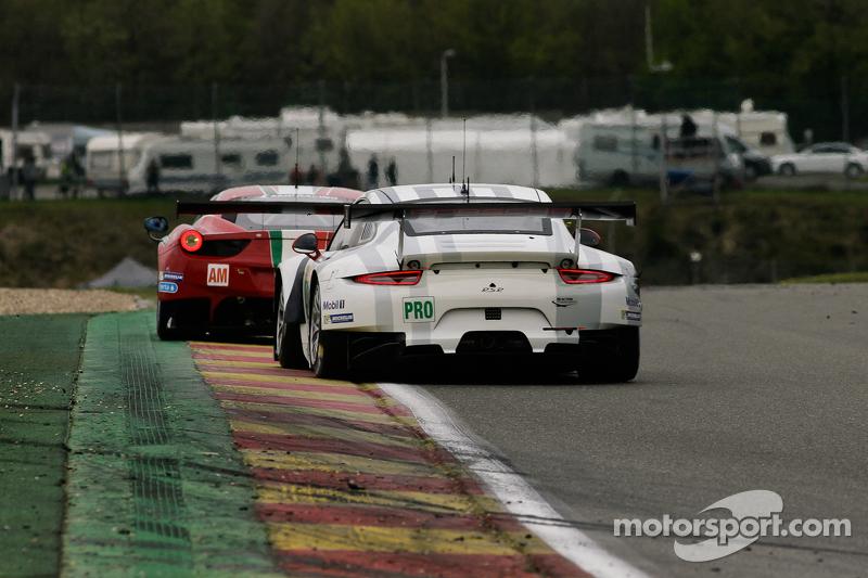 #91 Porsche Team Manthey, Porsche 911 RSR: Sven Müller, Kevin Estre