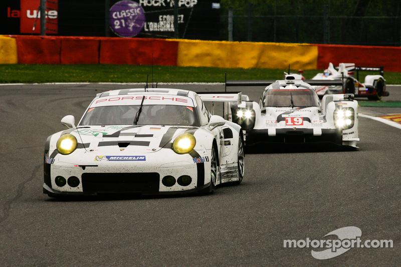 #92  保时捷北美,Manthey保时捷911 RSR: Frédéric Makowiecki, Richard Lietz