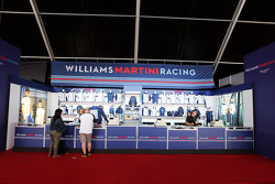 Williams Merchandise Stand