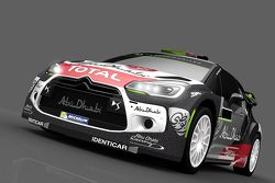 Livery for Mads Ostberg and Jonas Andersson, Citroën DS3 WRC, Citroën World Rally Team