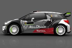 Livery for Kris Meeke and Paul Nagle, Citroën DS3 WRC, Citroën World Rally Team