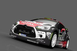 Окрас Citroen DS3 WRC Халида Аль-Кассими