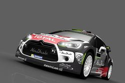 Окрас Citroen DS3 WRC Криса Мика