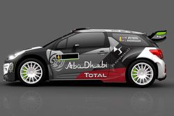 Окрас Citroen DS3 WRC Мадса Остберга