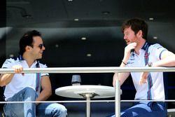 Felipe Massa, Williams F1 Team and Rob Smedley, Williams F1 Team, Chief Engineer