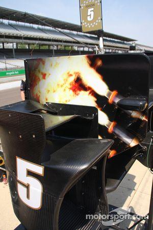 Francesco Dracone, Dale Coyne Racing Honda detail