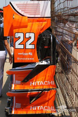Simon Pagenaud, Team Penske Chevrolet, dettaglio
