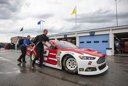 La voiture de Brad Keselowski, Team Penske Ford