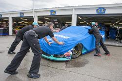 La voiture de Ricky Stenhouse Jr., Roush Fenway Racing Ford