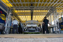 La voiture de Justin Allgaier, HScott Motorsports Chevrolet