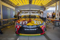 La voiture d'Erik Jones, Joe Gibbs Racing Toyota