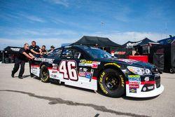La voiture de Michael Annett, HScott Motorsports Chevrolet