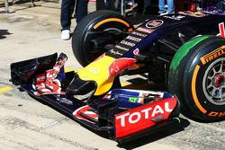 Red Bull's new front wing