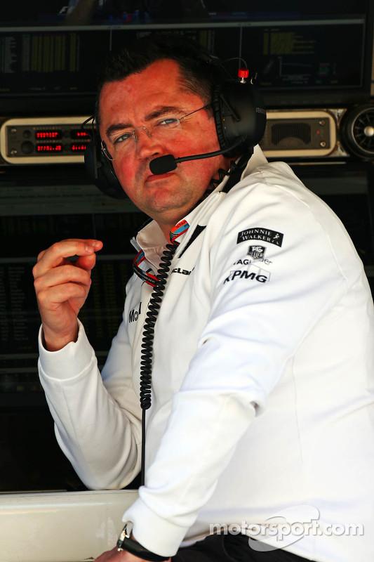 Eric Boullier, Rennleiter McLaren