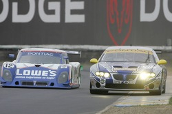 #12 Lowe's Fernetez Racing Pontiac Riley: Adrian Fernetez, Mario Haberfeld; #64 TRG Pontiac GTO.R: P