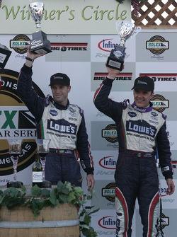 Podium: #12 Lowe's Fernetez Racing Pontiac Riley: Adrian Fernetez, Mario Haberfeld
