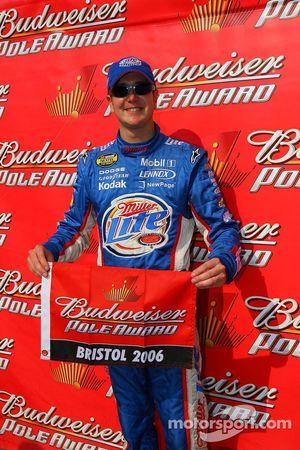 Kurt Busch en pole position