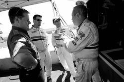 Hurley Haywood, JC France et Roberto Moreno