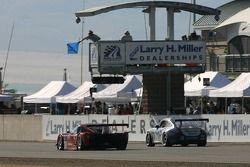 #78 Doran Racing Pontiac Doran: Oliver Kuttner, Tony Ave, James Gue, #73 Tafel Racing Porsche GT3 Cu
