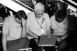 Southard Motorsports crew members at work
