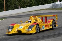 #6 Penske Racing, Porsche RS Spyder: Sascha Maassen, Timo Bernhard