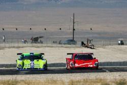#75 Krohn Racing Ford Riley: Tracy Krohn, Boris Said, Max Papis, Jorg Bergmeister, #78 Doran Racing