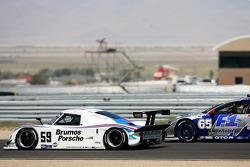 #59 Brumos Racing Porsche Riley: Hurley Haywood, JC France, Roberto Moreno, #65 TRG Pontiac GTO.R: Marc Bunting, Andy Lally, Spencer Pumpelly
