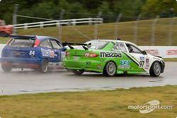 Jeff Nowicki (#84 Ford Focus), Charles Espenlaub (#97 Mazda 6)