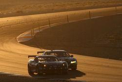 #57 Stevenson Motorsports Corvette: Tommy Riggins, Vic Rice, Dominic Cicero II, #65 TRG Pontiac GTO.
