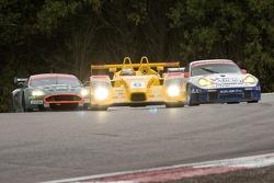 #6 Penske Motorsports Porsche RS Spyder: Sascha Maassen, Timo Bernhard;#23 Alex Job Racing Porsche 911 GT3 RSR: Mike Rockenfeller, Marcel Tiemann;#007 Aston Martin Racing Aston Martin DB9: Tomas Enge, Peter Kox