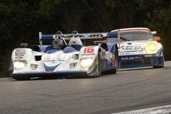 #16 Dyson Racing Team Lola B06/10 AER: James Weaver, Butch Leitzinger ; #23 Alex Job Racing Porsche 911 GT3 RSR: Mike Rockenfeller, Marcel Tiemann