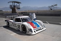#59 Brumos Racing Porsche Riley: Hurley Haywood, JC France, Roberto Moreno