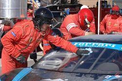 Lavage de parebrise pour la Ferrari F430 CH n°62 Corsa GT Motorsports : Steve Pruitt, Cort Wagner, A
