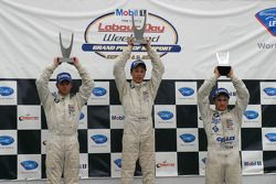 Le podium : Reed Stevens, Matt Lee and Adrien Herberts