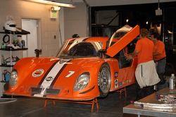 Tuttle Team Racing garage