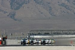 Départ : Mustang GT n°2 Blackforest Motorsports : Darren Law, Terry Borcheller takes the lead