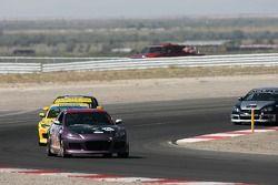 #128 Silver Back Racing Mazda RX-8: Chip VanVurst, Danny Alvis