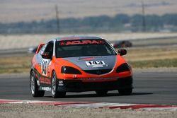 #143 Davis Motorsports Acura RSX - S: Nick Leverone, Lorenzo Serra, Tom Long