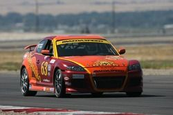 Mazda RX-8 n°63 Roar Racing : Dave Ciekiewicz, Travis Walker