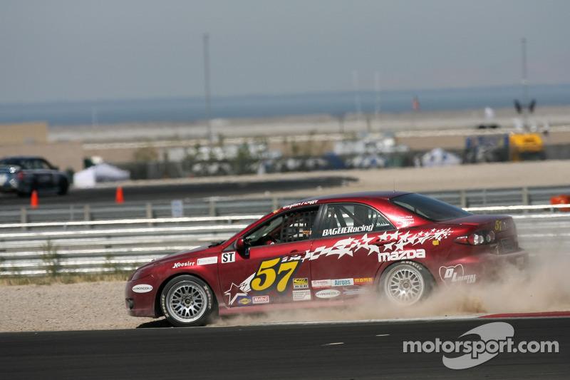 Mazda 6 n°57 Baglieracing : Dennis Baglier, Marty Luffy slides