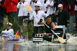 Course entre Christian Abt et Mattias Ekstrom