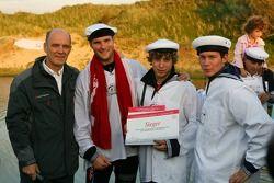 The winning team of Martin Tomczyk