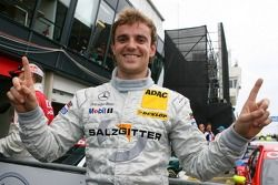 Pole position for Jamie Green