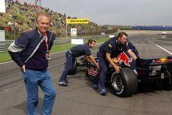 Red Bull demo: Harry Muermans, sponsor of the Red Bull F1 team