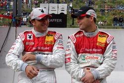 Christian Abt en discussion avec Pierre Kaffer avant la course