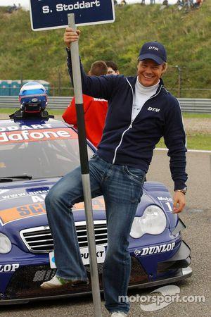 Grid boy of Susie Stoddart: the local Zandvoort racedriver Dilllon Koster