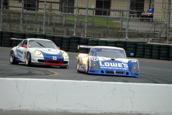 #12 Lowe's Fernandez Racing Pontiac Riley: Adrian Fernandez, Mario Haberfeld, #74 Tafel Racing Porsc