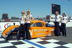 Playmates Playboy avec Guy Cosmo et la Playboy/ Uniden Racing Ford Crawford #19