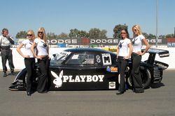 Playmates Playboy avec Brian Frisselle et Lexus Riley #6 du Playboy Racing/ Mears